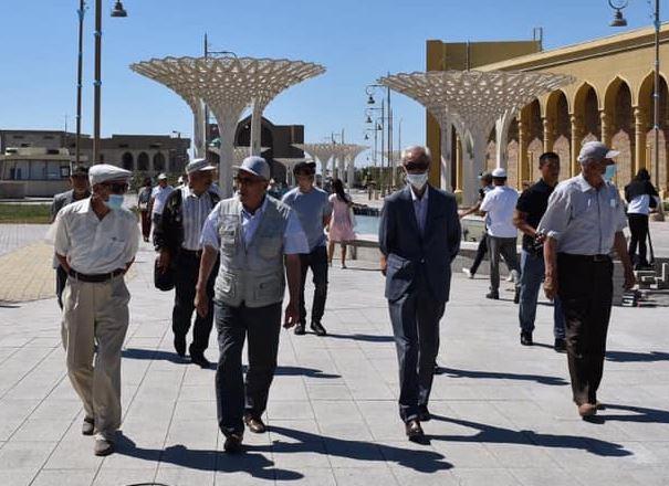 Түркістандық қариялар киелі орындарға экскурсия жасады