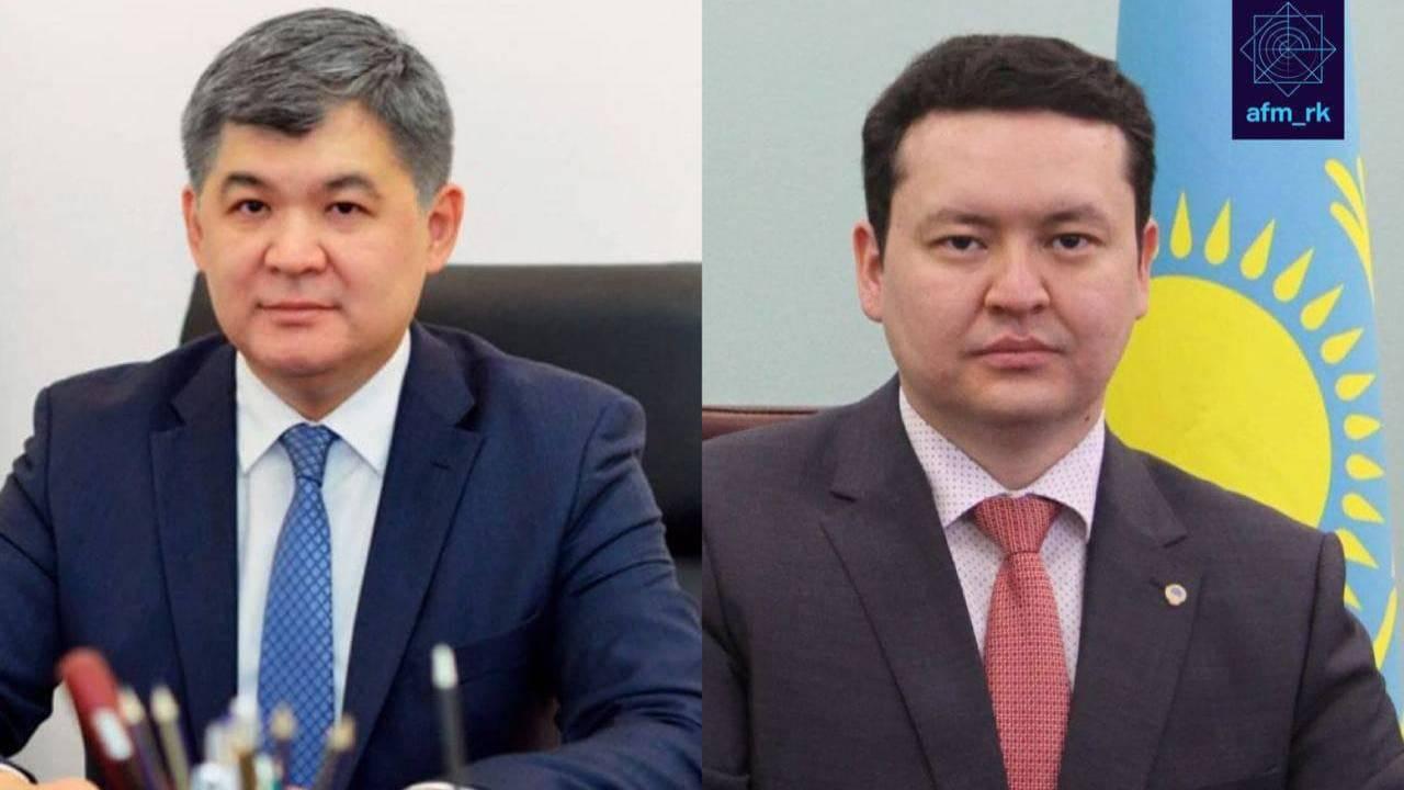 Елжан Біртанов пен Олжас Әбішевке қатысты тергеу аяқталды