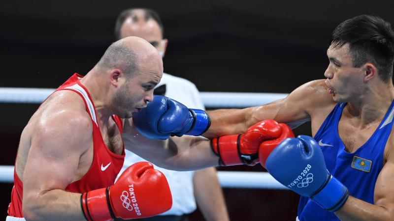 Қамшыбек Қоңқабаев Токио олимпиадасының жартылай финалына өтті