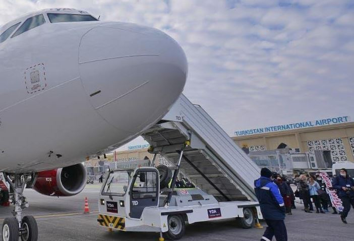 Түркістан әуежайынан 15 бағытта рейстер қатынап жатыр