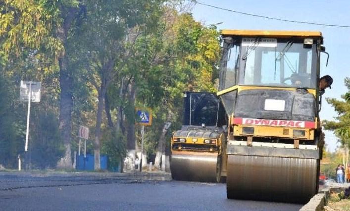 Шымкентте жол құрылыс жұмыстары жоспарға сай жүргізіліп жатыр